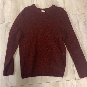 Men's Red H&M sweater